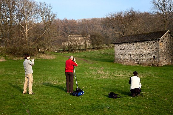 Photographing Barns near West Burton, Wensleydale, Yorkshire Dales