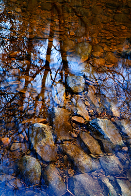 Reflection, Hebden Water