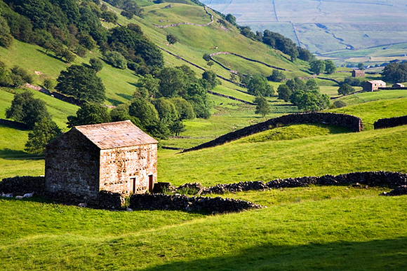 Barn near Keld in Upper Swaledale Yorkshire Dales