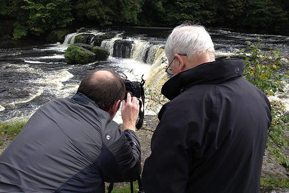 Shooting Waterfall Details at Upper Aysgarth Falls