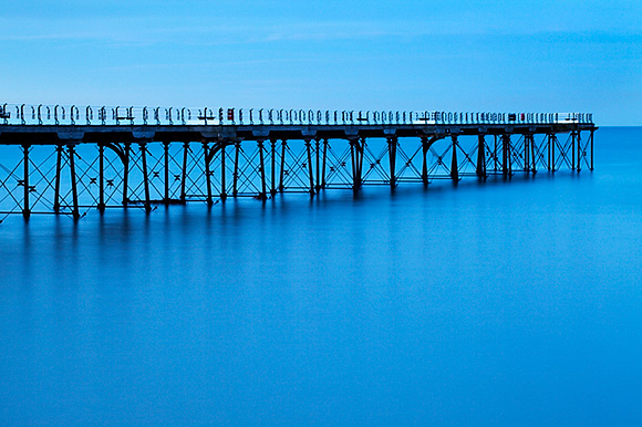 Saltburn Pier in Twilight