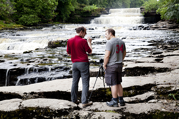 Capturing the Lower Aysgarth Falls