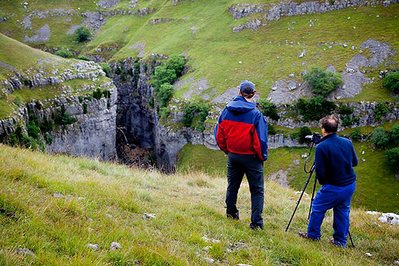 Picking Out Details Above Gordale Scar