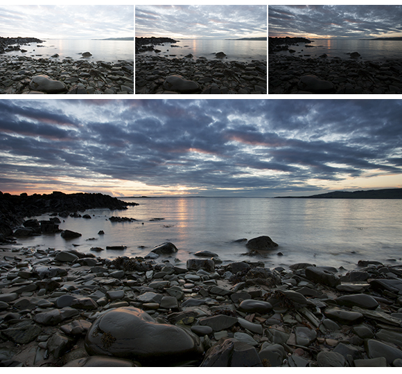 Sunset at Carrick Shore, Dumfries and Galloway, Scotland