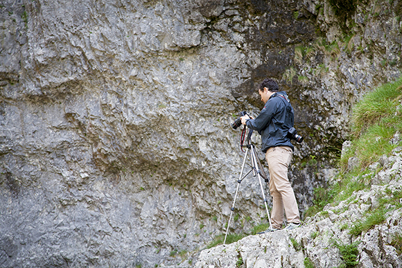 Capturing the waterfalls at Gordale Scar
