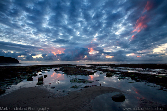 Cloud Formations at Dawn Robin Hoods Bay
