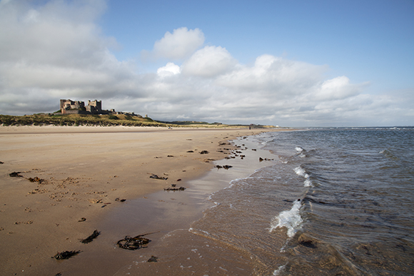 Bamburgh Castle Beach, Northumberland Coast