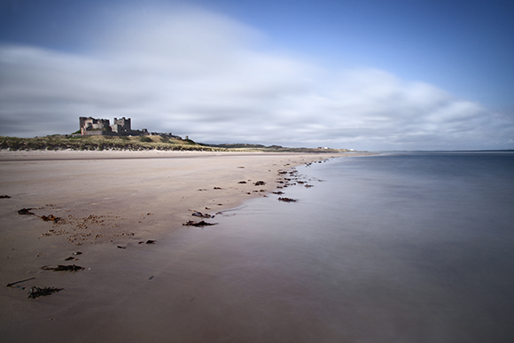 Bamburgh Castle Beach, Northumberland Coast (Big Stopper)