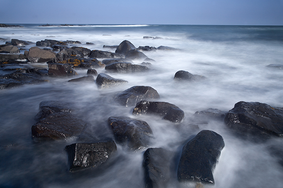 Rocky outcrop at Newton Point, Northumberland Coast (Big Stopper)
