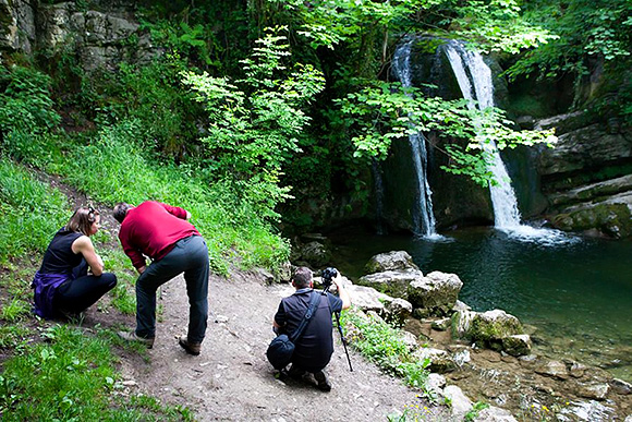 Photographing Janet's Foss (Sam Oakes)
