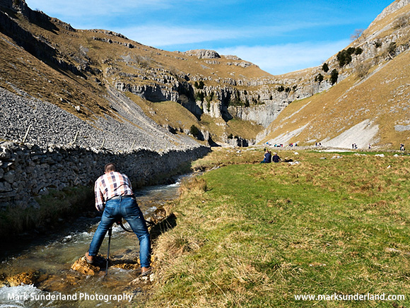 Finding Lead-in Lines at Gordale Scar