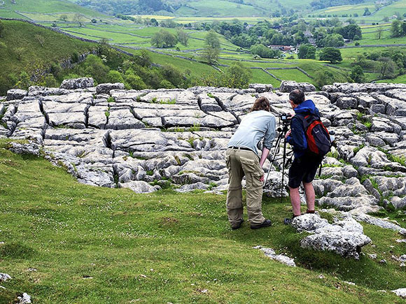 Photographing Limestone Details at Malham Cove