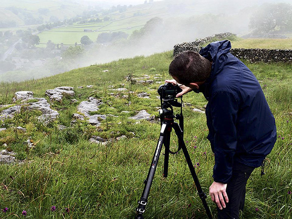 Checking the Histogram - Clouds Sweeping up the Valley above Stainforth