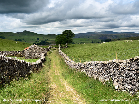 Goat Scar Lane near Stainforth in Ribblesdale
