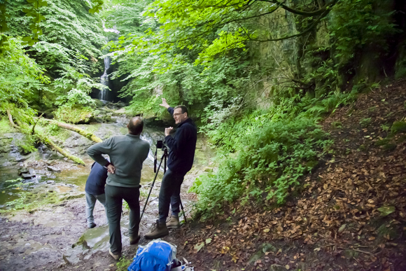 Photographing Waterfalls and Woodland at Catrigg Force