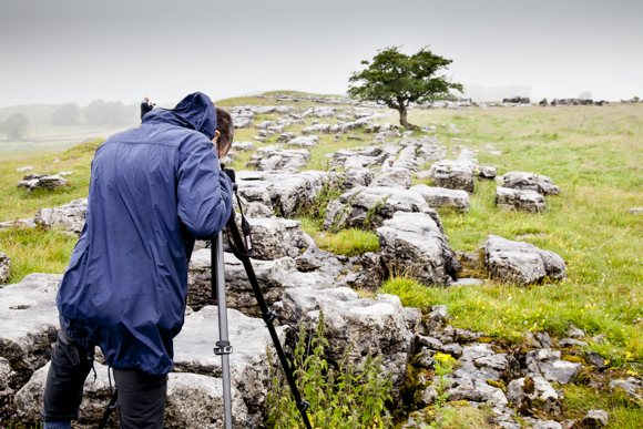 In Amongst the Limestone at Winskill Stones