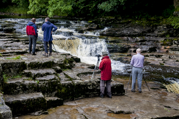 Perfect Waterfall Photography Light at Stainforth Force