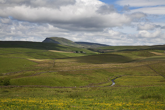 Pen-Y-Ghent and the North Yorkshire Dales Countryside, Three Peaks