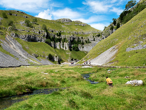 Lost in the Landscape at Gordale Scar