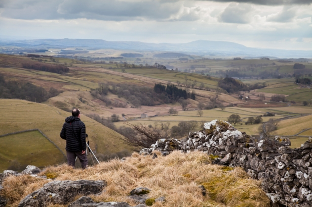 On the tops with stunning 360 views over Malhamdale. © Sam Oake