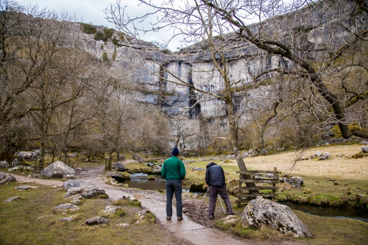 Last stop of the day below Malham Cove. © Sam Oakes Photography