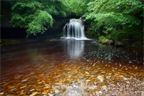 West Burton Falls, also known as Cauldron Force, Wensleydale, No