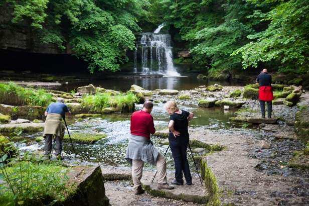 Last stop for the day, back at West Burton Waterfalls