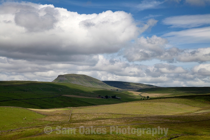 Pen-Y-Ghent and the North Yorkshire Dales Countryside, Three Pea