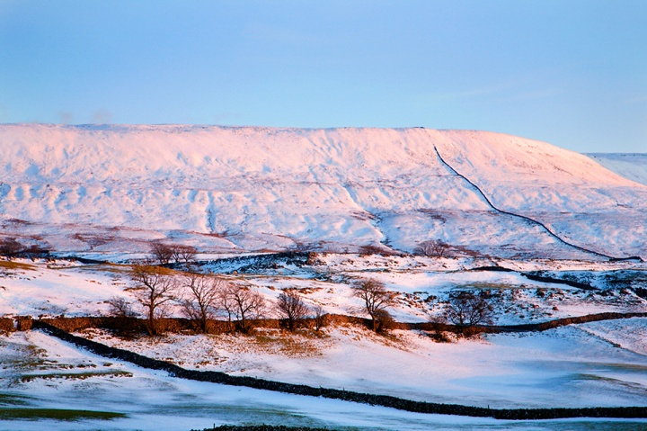 Simon Fell in Winter, Yorkshire Dales