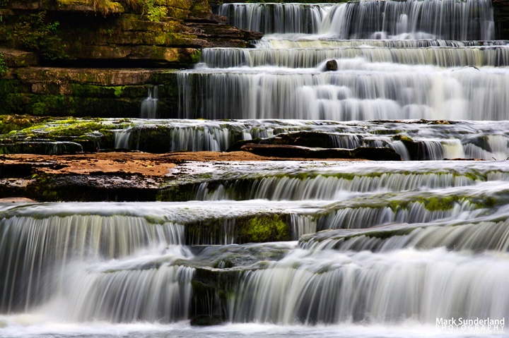 Lower Aysgarth Falls, Wensleydale, Yorkshire Dales