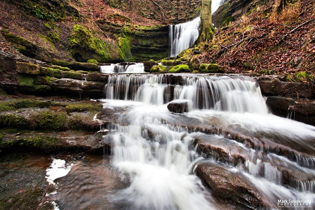 Lower falls at Scaleber Force