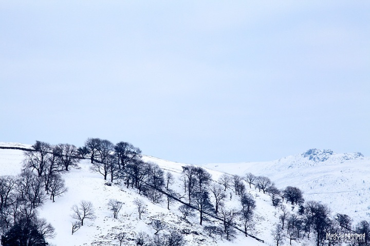 Winter Hillside and Sky, Wharfedale
