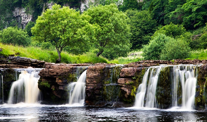 Wain Wath Force in Swaledale