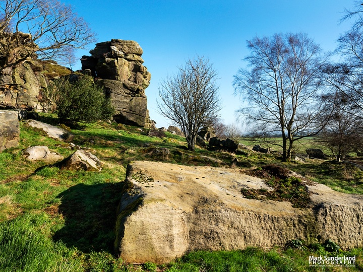 Brimham Beacon Rocks in Nidderdale