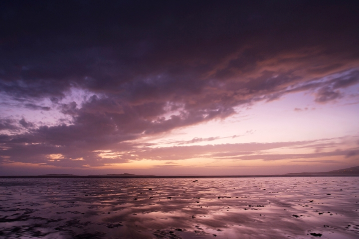 Carrick Shore at Sunset, Dumfries and Galloway, Scotland