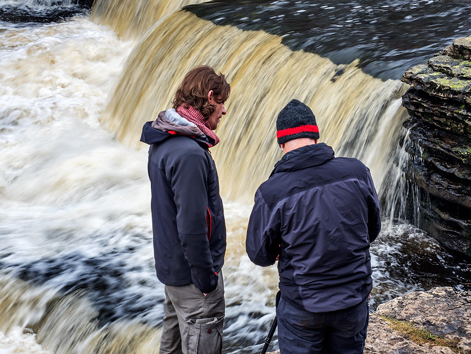 Shooting Moving Water Details at Lower Aysgarth Falls