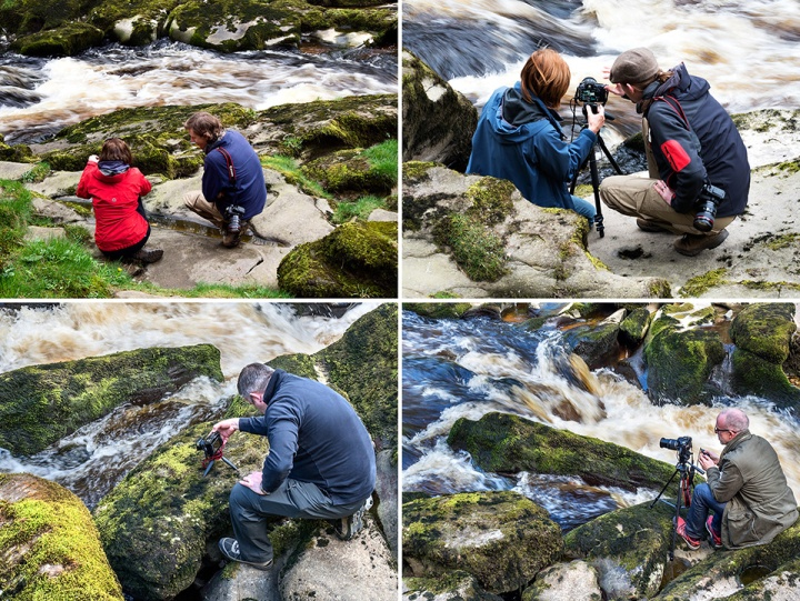 Capturing Moving Water Details at The Strid