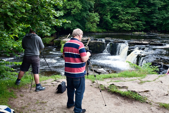 Upper Aysgarth Falls in June 2014